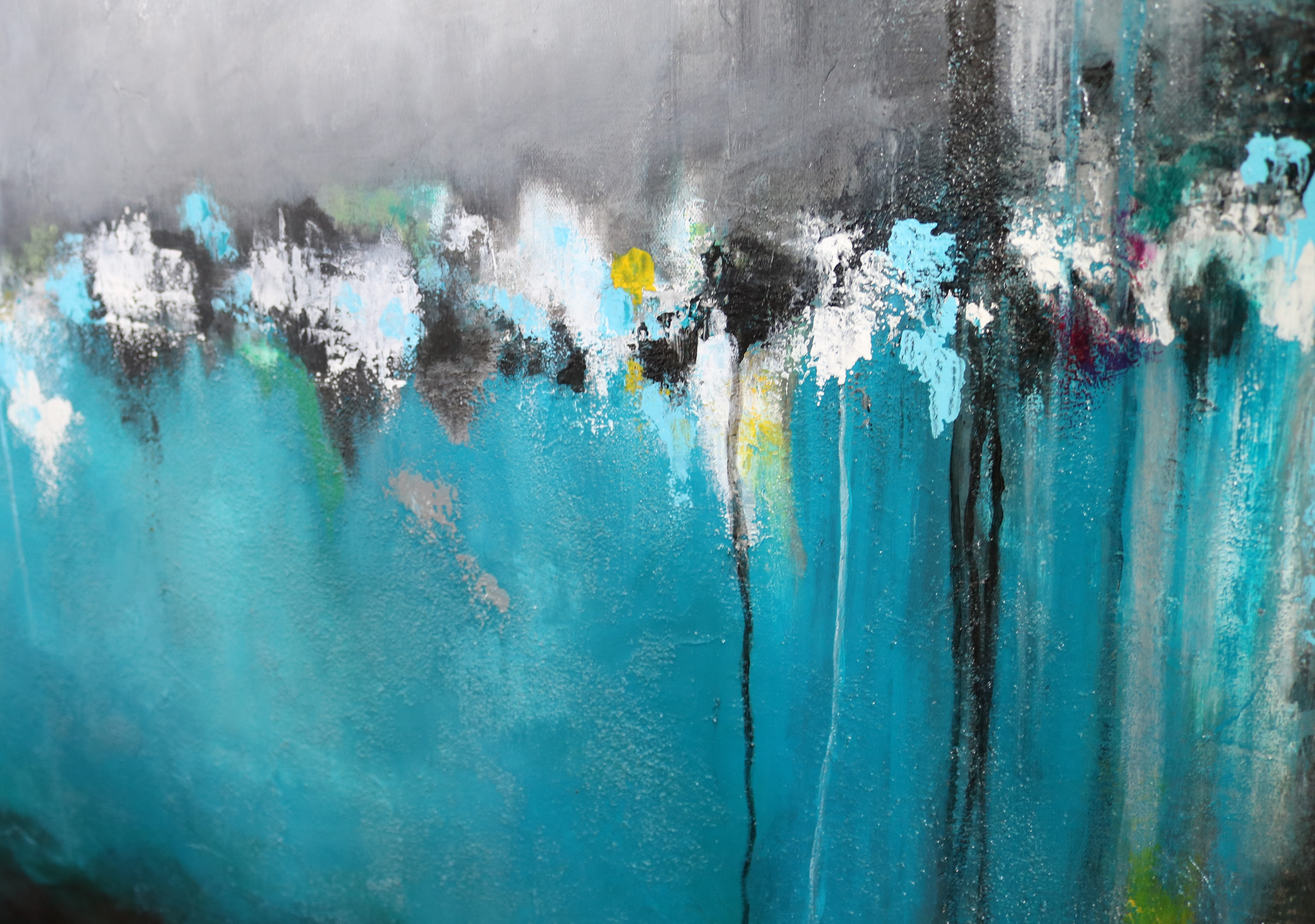 Calm-Original Abstract Painting (SOLD) by Amy Provonchee ...